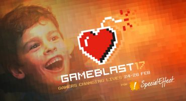 SpecialEffect launch Gameblast 17